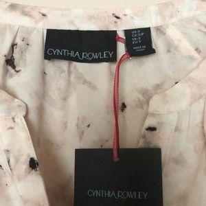 Cynthia Rowley Tops - Cynthia Rowley Blush Pink Blouse